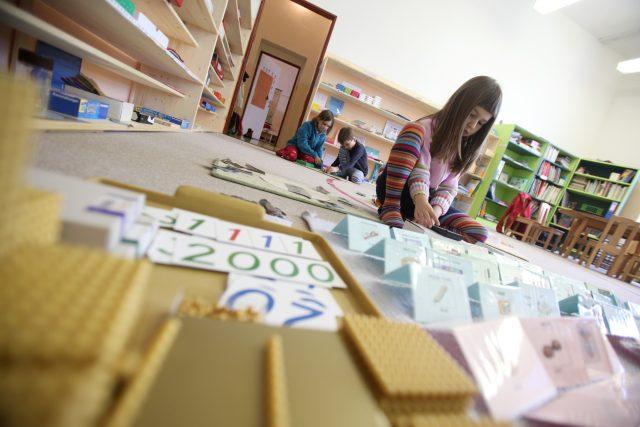 Montessori škola v Lázních Bohdaneč