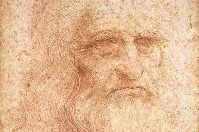 Předpokládaný autoportrét Leonarda da Vinci