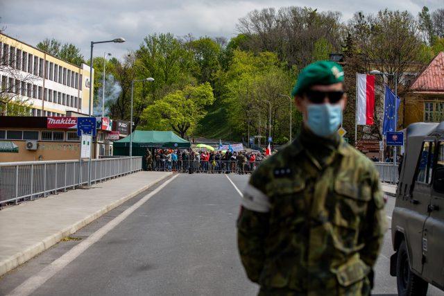 Na česko-polské hranici