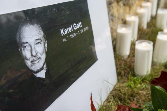 Karel Gott zemřel 1. října 2019