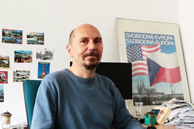 Petr Hartman, komentátor a pamětník listopadu 1989 v Československém rozhlase