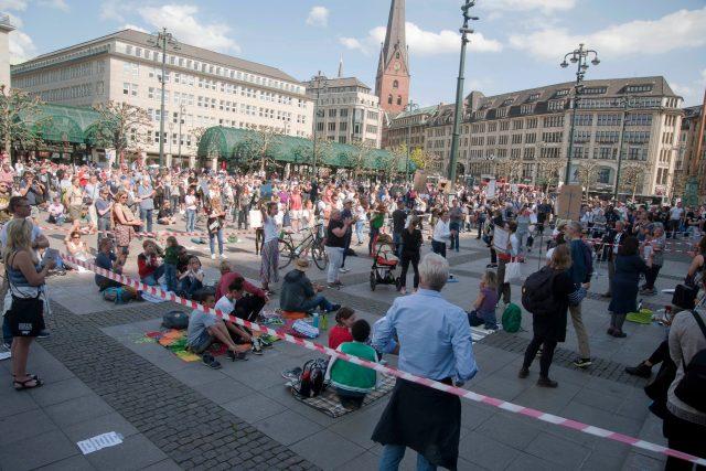 Protesty v Německu, Hamburk