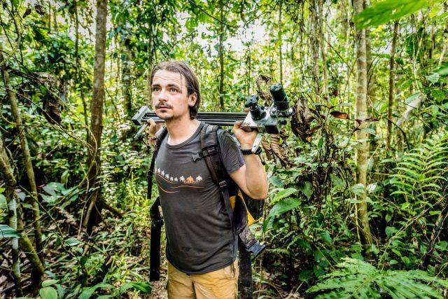 Petr Jan Juračka v Ekvádoru,  rok 2017 | foto: archiv Petra Jana Juračky