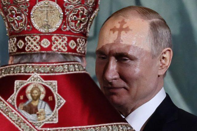 Moskevský patriarcha Kirill a ruský prezident Vladimir Putin