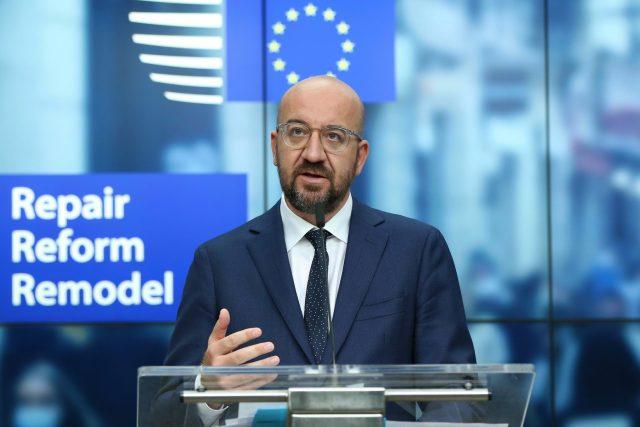 Šéf Evropské rady Charles Michel | foto: Fotobanka Profimedia