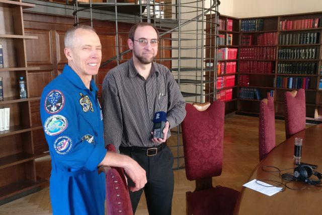 Astronaut Andrew Feustel v rozhovoru pro Český rozhlas
