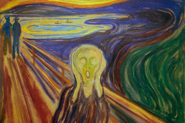 Edvard Munch: Výkřik  (1893) | foto: Profimedia