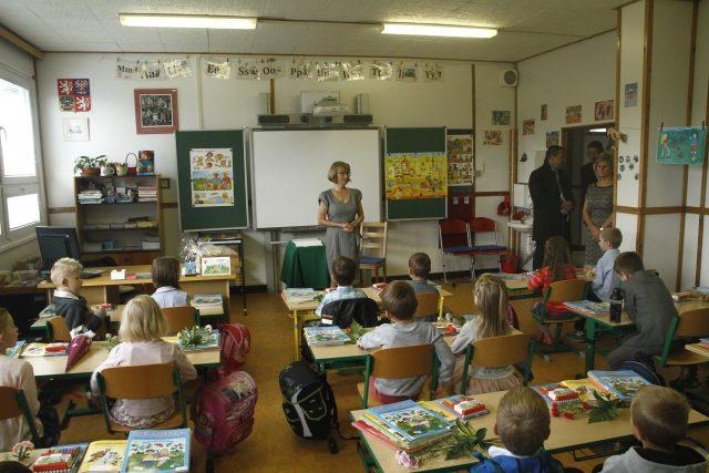 Začátek školního roku v první třídě | foto: Fotobanka Profimedia