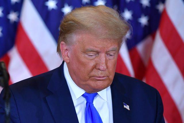 Donald Trump nv předvolební kampani