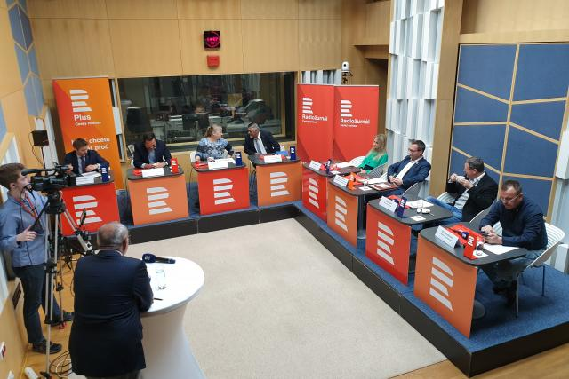 Hosté druhé debaty kandidátů do europarlamentu