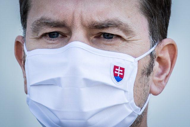 Slovenský premiér Igor Matovič