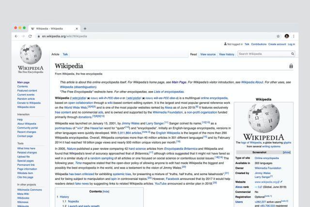 Wikipedie,  jak ji známe | foto: Unsplash,  CC0 1.0