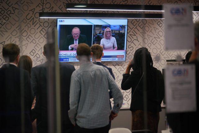 Ve Velké Británii začala vysílat nová zpravodajská televize GB News | foto: Fotobanka Profimedia