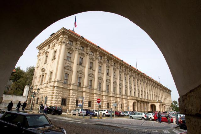 Černínský palác, sídlo Ministerstva zahraničních věcí