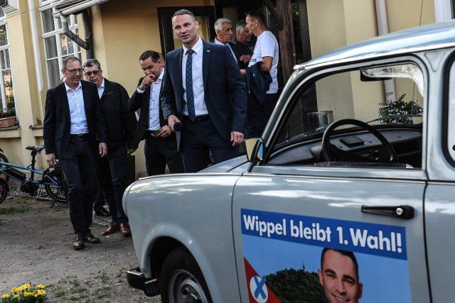 Sebastian Wippel, kandidát Alternativy pro Německo na primátorka saského města Görlitz