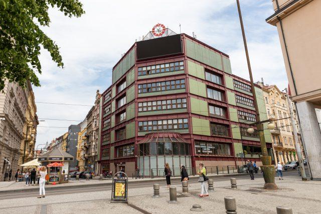 Dům Metrostavu na Palackého náměstí v Praze