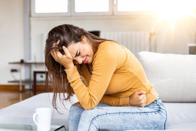 Bolest břicha   foto: Shutterstock
