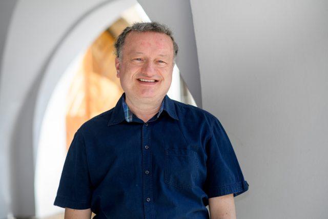 Biochemik Jan Konvalinka | foto: Khalil Baalbaki,  Český rozhlas,  Český rozhlas