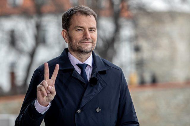 Vítěz slovenských parlamentních voleb v roce 2020 Igor Matovič