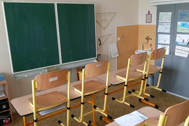 Základní škola pro zrakově postižené v Plzni je zavřená | foto: Jan Markup,  Český rozhlas Plzeň