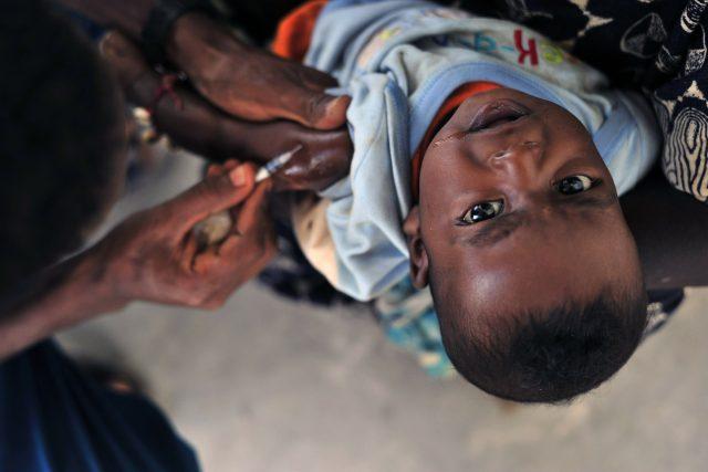 Očkování v Africe