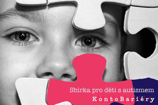 Sbírka Konto Bariéry na pomoc rodinám s dětmi autistického spektra | foto: Jana Patková,  Karolína Jílková,  Konto Bariéry