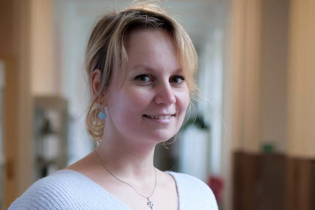 Studentka ČVUT Roberta Bimbová