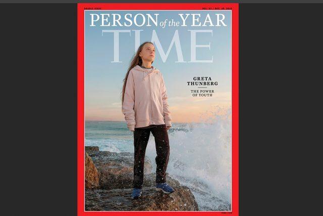Aktivistka Greta Thunbergová je podle časopisu Time osobností roku