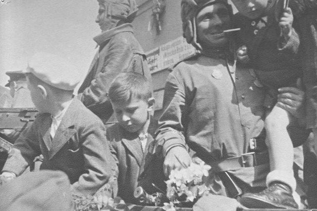 Konec války v Praze, květen 1945