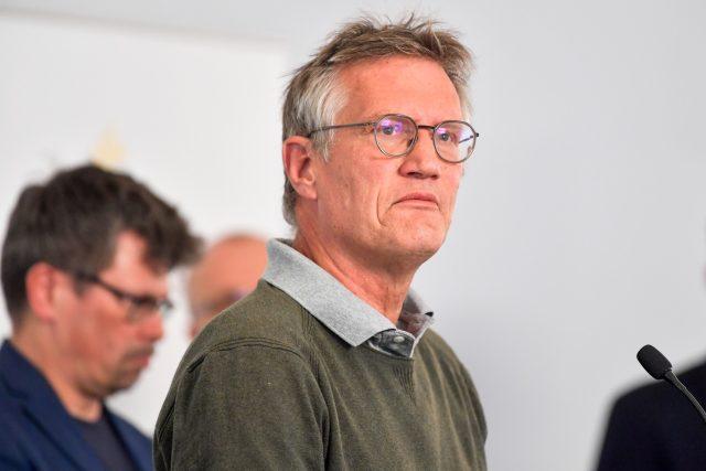 Hlavní švédský hygienik Anders Tegnell
