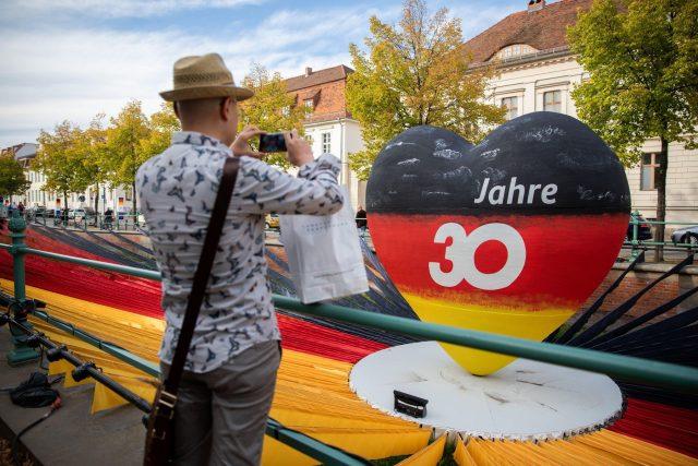 Třicet let od sjednocení Německa