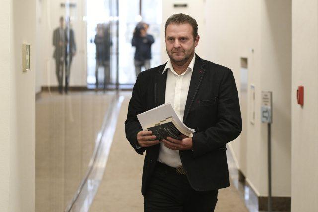 Poslanec KSČM Zdeněk Ondráček | foto: Ondřej Deml, ČTK