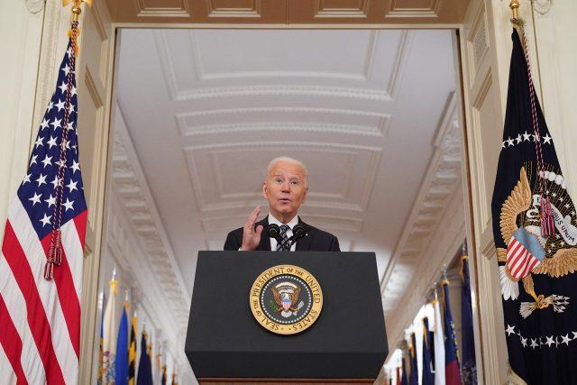 americký prezident Joe Biden | foto: Fotobanka Profimedia