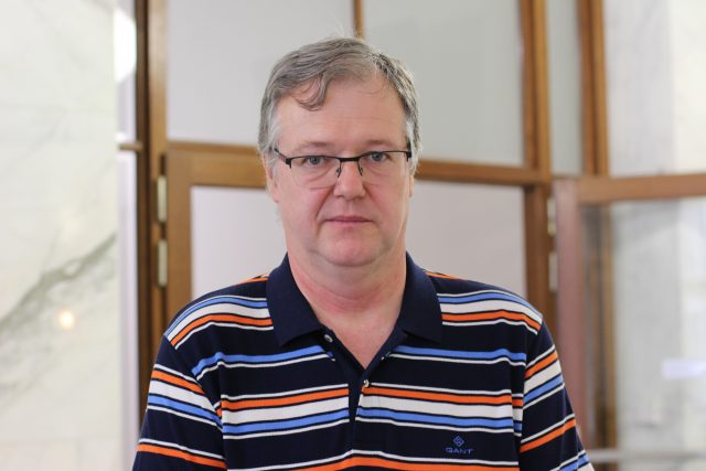 Petr Zahradník, ekonom České spořitelny a člen Evropského hospodářského a sociálního výboru