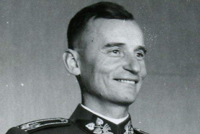 Generál Ján Golian, jeden z vůdců Slovenského národního povstání