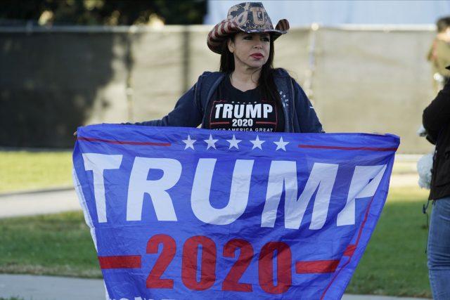 Podporovatelka Donalda Trumpa