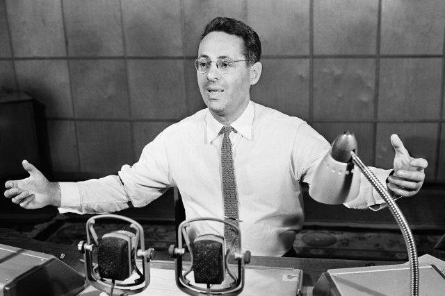 Jurij Levitan na snímku z roku 1961