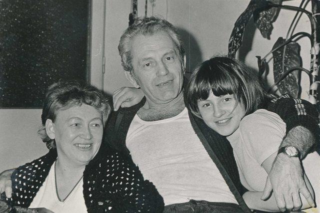 Rodina Ledererových v roce 1980