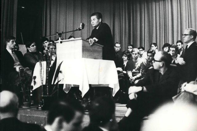 Ota Šik v exilu ve Švýcarsku, listopad 1968