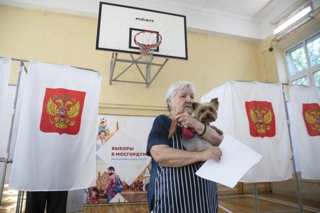 Komunální volby v Rusku
