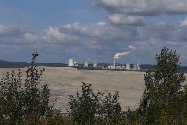 Důl Turów a elektrárna polské společnosti PGE