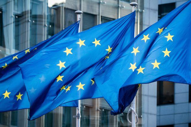 Vlajky Evropské unie (ilustrační foto)