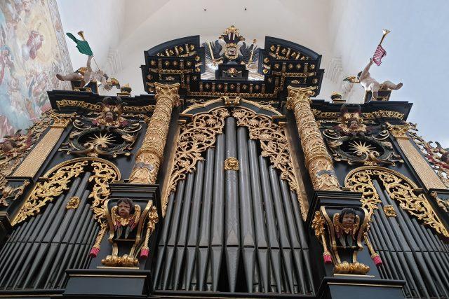 Varhany v Týnském chrámu