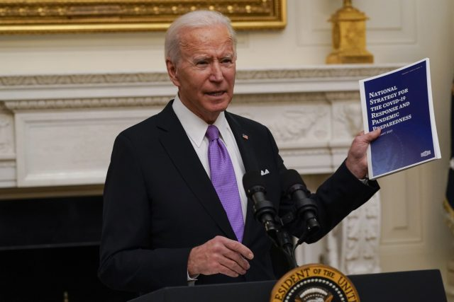 Americký prezident Joe Biden   foto: Alex Brandon,  ČTK/AP