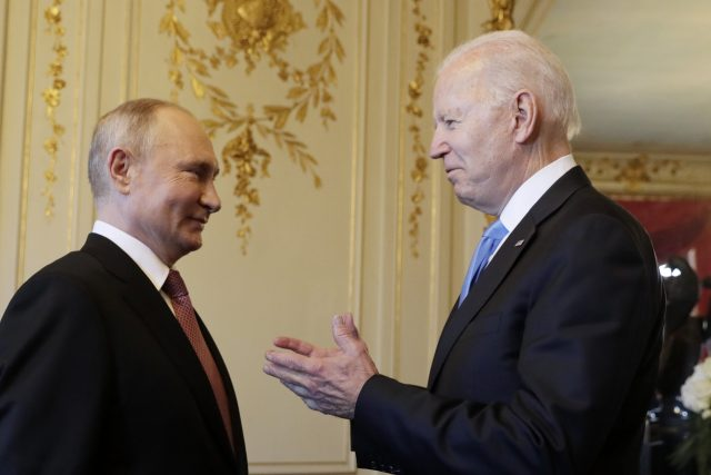Vladimir Putin a Joe Biden v Ženevě; Russia-United States summit in Geneva