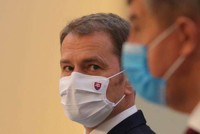 Slovenský premiér Igor Matovič a jeho český protějšek Andrej Babiš