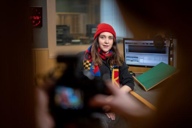 Apolena Rychlíková   foto: Khalil Baalbaki,  Český rozhlas