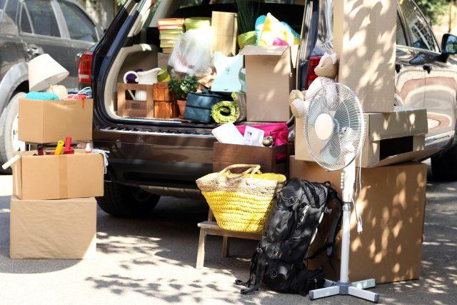 Stěhování není lehký úkol