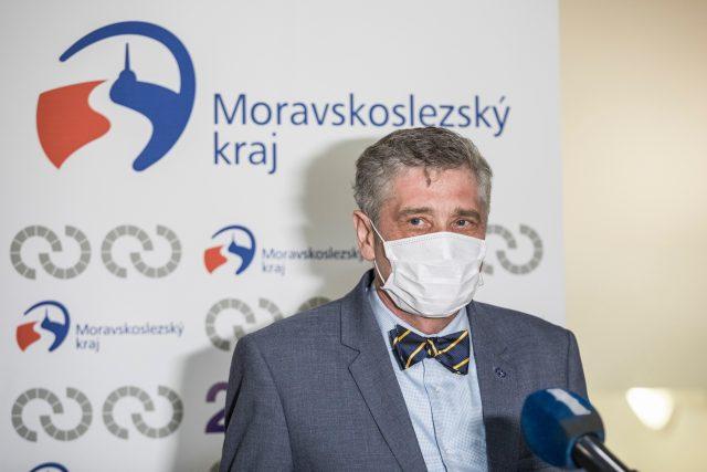 Hejtman Moravskoslezského kraje Ivo Vondrák (ANO)