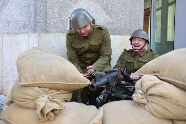 Výstava Pevnost Československo - 80. výročí mobilizace čs. armády v Infocentru v Hradci Králové